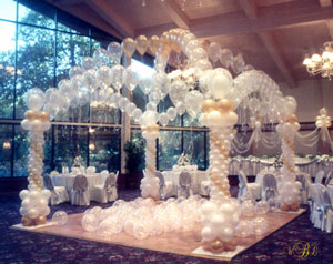 Wedding Balloon Decor ~ Tulsa, OK