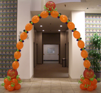 Hallowen balloons for halloween parties tulsa ok for Harvest decorations for the home