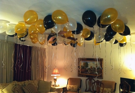 Adult Birthday Party Balloon Decor Tulsa OK
