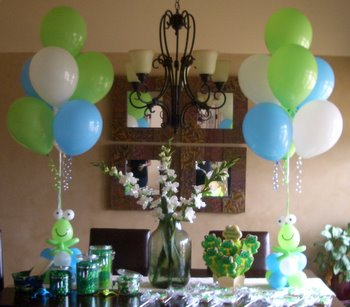 Kids birthday party balloon decorations for Balloon decoration for kids party