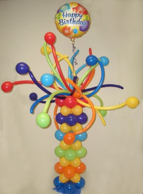 Birthday Balloon Bouquet Delivery Bouquets Tulsa OK