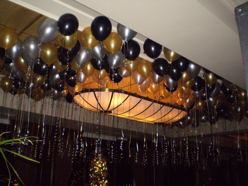 New Year's Eve Balloon Decor ~ Tulsa, OK
