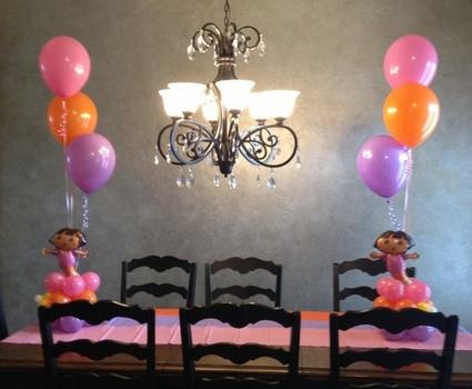 Dora Birthday Balloon Party Theme ~ Tulsa, OK