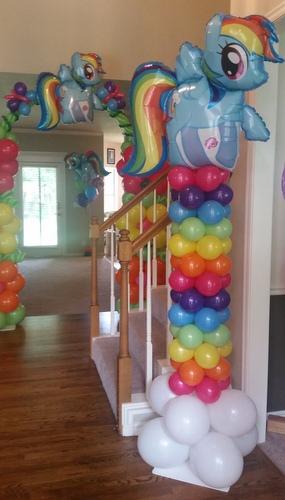My Little Pony Birthday Balloon Party Theme ~ Tulsa, OK