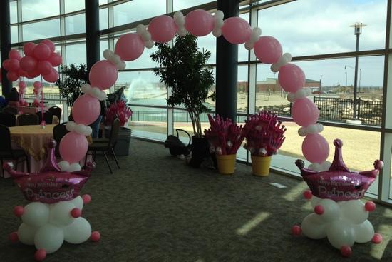 Princess Birthday Balloon Party Theme ~ Tulsa, OK