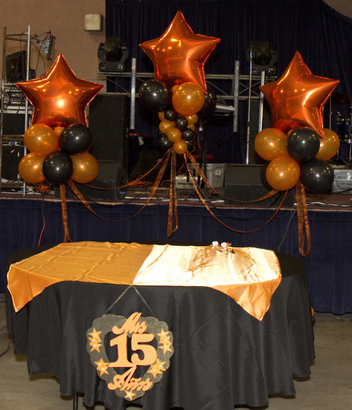 Quinceanera balloon decorations quincenetta tulsa ok for Balloon decoration ideas for quinceaneras