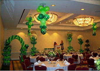 st patricks day balloon bouquets and balloon decor tulsa ok - St Patricks Day Decorations